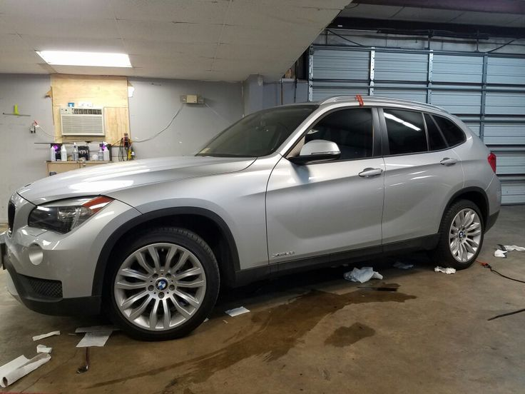 BMW X1 we tinted 20 all around with our LLumar ATC series