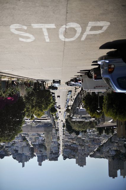 by Fred ThomasSan Francisco California, Pointofview, Point Of View, Shops Lists, Art, Street Signs, Perspective, Feelings, Photography