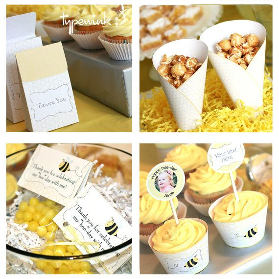 153 Best Bumble Bee Party Or Baby Shower Images On Pinterest