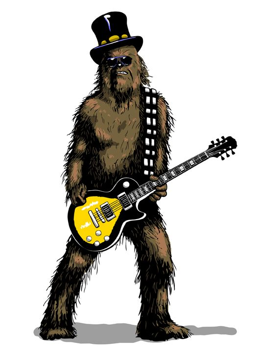 Google Image Result for http://designyoutrust.com/wp-content/uploads/2012/08/Wookie_on_Guitar_by_b_maze.jpeg