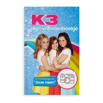 K3 vriendenboekje