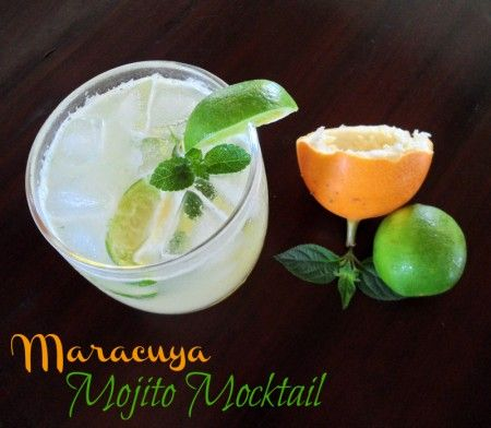 Maracuya Mojito Mocktail | Recipe