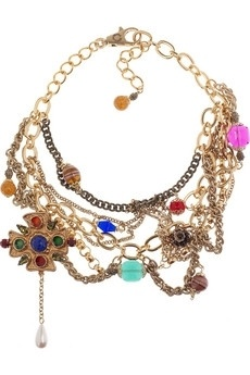 Dolce & Gabbana Brass and glass crystal chain necklace NET-A-PORTER.COM - StyleSays: Jewelry Chains, Statement Necklaces, Chain Necklaces, Glasses Crystals, Dolce & Gabbana, Style Accessories, Chains Necklaces, Crystals Chains, Gabbana Brass