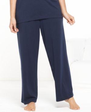 Nautica Plus Size Pajama Pants - Blue 3X