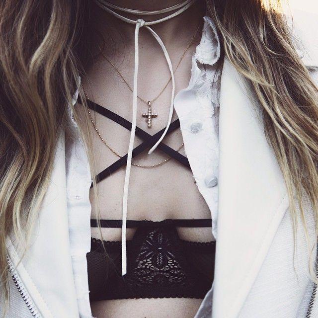 Deets 'n Teets by @pursenboots in the Cross Your Heart Underwire Bra #forloveandlemons
