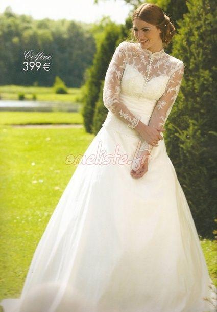 Robe de mariée modèle Colfine de Tati Mariage