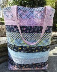 Big Bucket Tote by Jennifer Mathis of @Jennifer Mathis (Ellison Lane Quilts) for Pellon® Projects