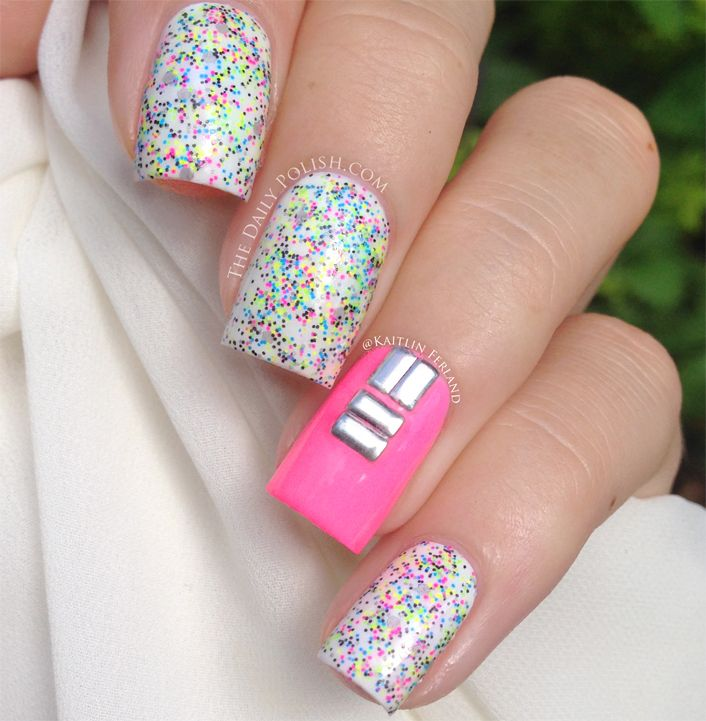 394 best Glitter Nail Designs images on Pinterest | Cute nails ...