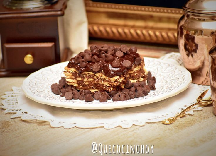 Marquesa de Chocolate 👑.- – Que Cocino Hoy?