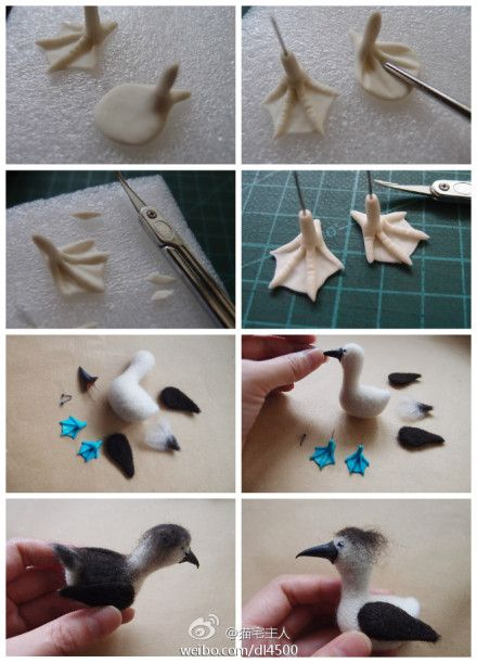 MAKING FEET FROM POLYMER AND WIRE