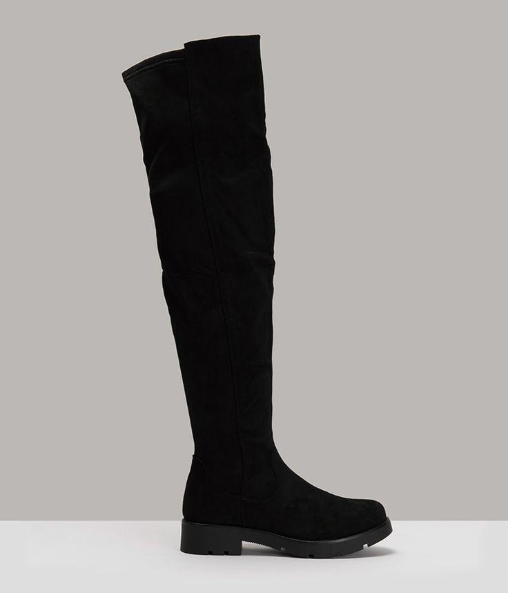 Exe Μαύρες Μπότες EX16D09 - buldoza.gr