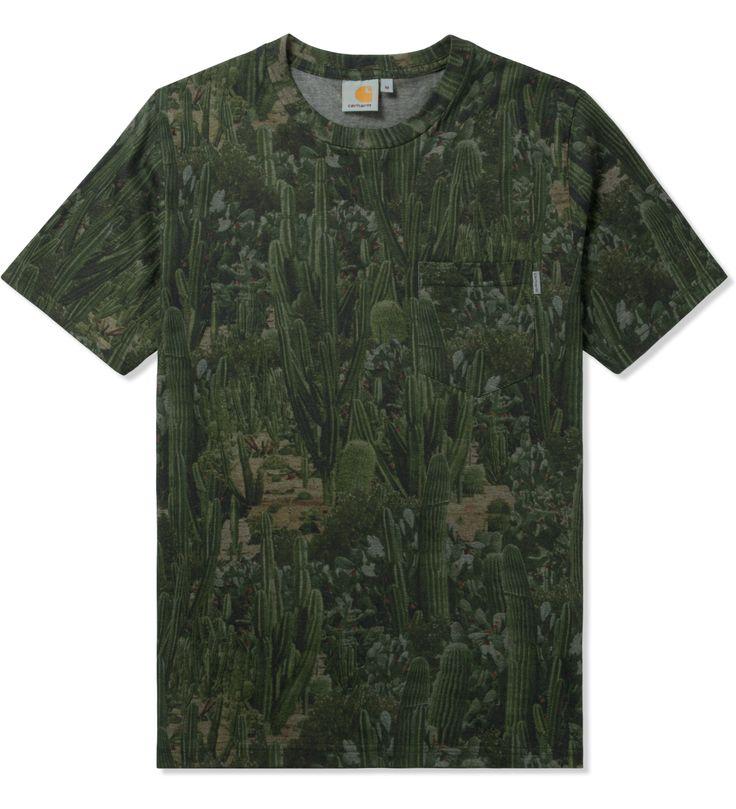 Carhartt WORK IN PROGRESS Cactus Print S/S Sierra Pocket T-Shirt | HYPEBEAST Store. Shop Online for Men's Fashion, Streetwear, Sneakers, Accessories