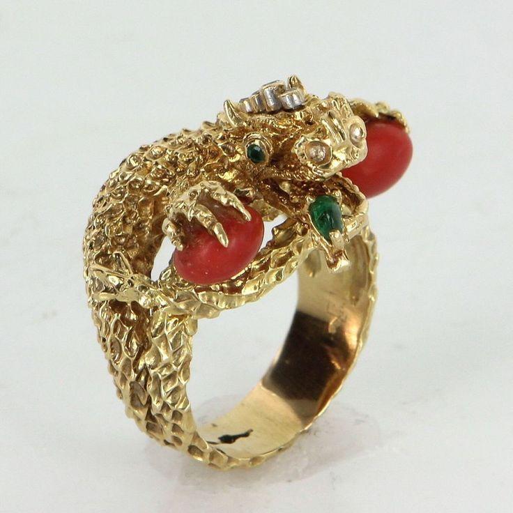 Best 25 Dragon ring ideas on Pinterest