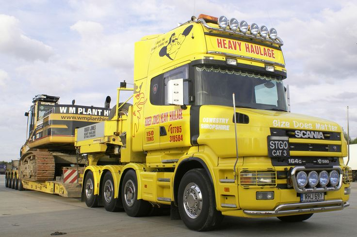 Roger Jones Heavy Haulage Scania T164G V8 580 Topline | by Scammell Amazon