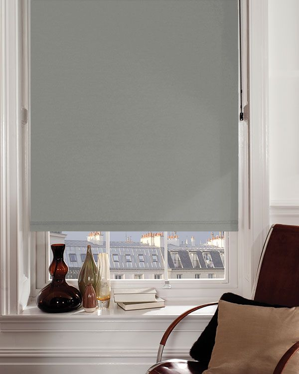 Moonlight Slate Blackout Blinds