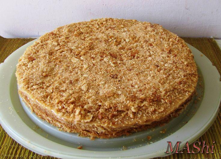 Медовый торт со сгущенкой классический