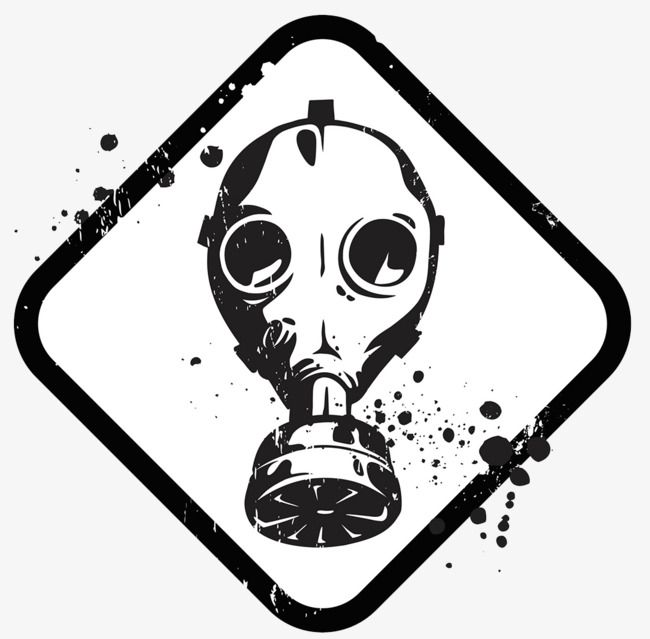 Gas Mask Icon Dangerous Goods Toxic Chemicals Mask Png Transparent Clipart Image And Psd File For Free Download Gas Mask Drawing Gas Mask Art Mask Drawing