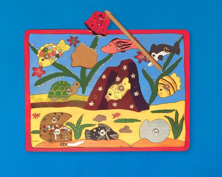 Handgefertigtes Spielzeug mit wunderschönem Motiv für Kinder