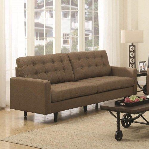 Coaster Kesson Mid Century Modern Sofa Fine Furniture Coasterfurniturelivingrooms