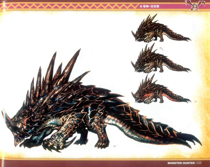 Mh illustrations akantor all aboard the nope train for Decorations monster hunter world