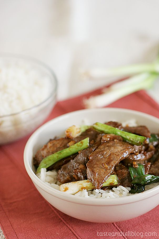 A simple beef dish full of Chinese flavors. This dish comes together quickly so you have dinner on the table faster than ordering take-out! Ok, so I'm really almost tempted to not even talk about this recipe, but to tell you to run right out and buy yourself a copy of this month's Cookbook of...