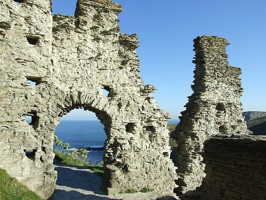 Tintagel Castle, said to have been King Arthur's Camelot...