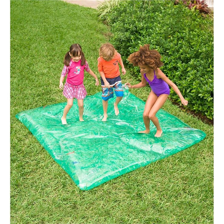 Large Rectangle AquaPod™ with Colorful Fish in Outdoor Play Toys
