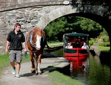 Horse Drawn Trips - so pretty.  I went to Wales when I was a kid and stayed in a hotel right next to these canals with horse-drawn boats.  I sooo wanted to go, but didn't get to.  Must go back :-)