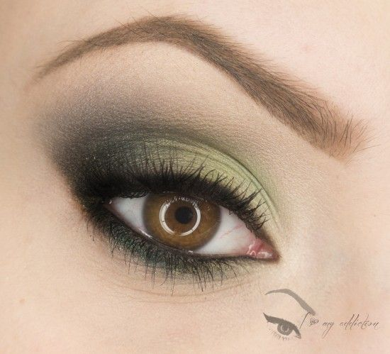 Elegant Green on Makeup Geek created by ilovemyaddiction.