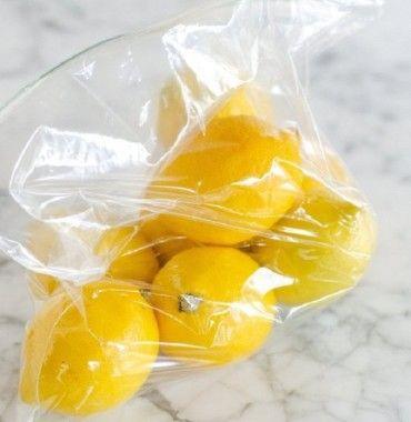 Hogyan tartsuk frissen egy hónapig a citromot?