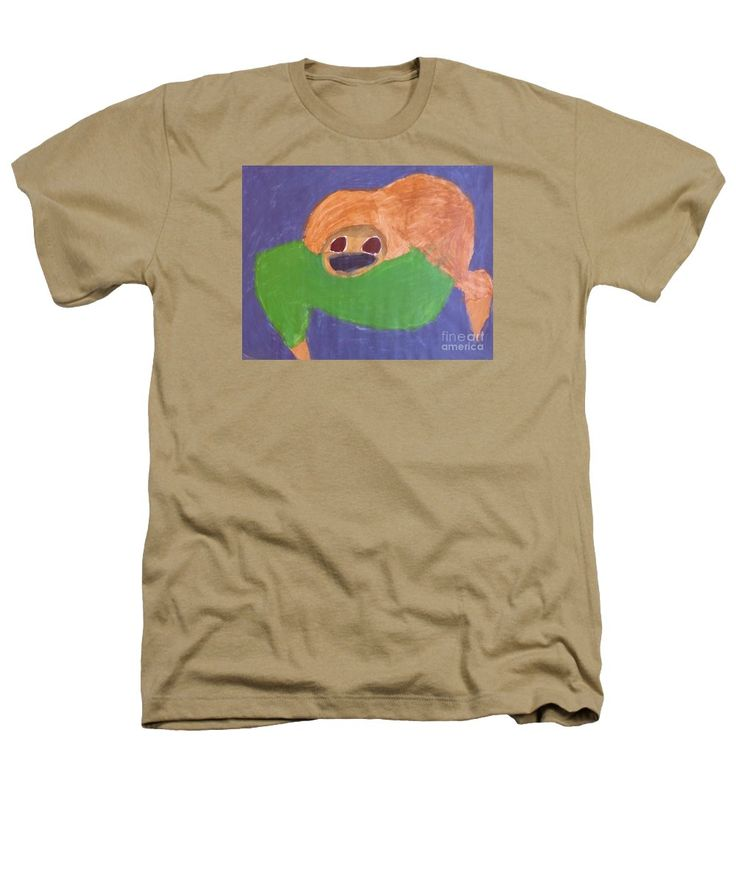 Patrick Francis Heathers T-Shirt featuring the painting Otter 2014 by Patrick Francis