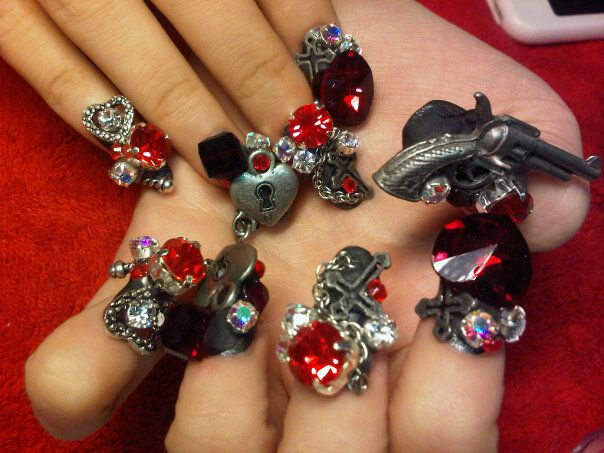 crazy extreme nails