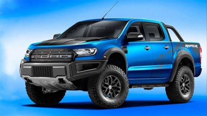 2019 Ford Ranger Raptor Coming In Biger Hp Engine With Images