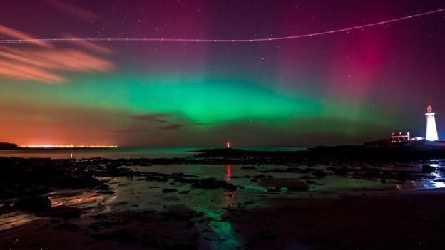 Seen by You: Northern Lights over the North East | Tyne Tees - ITV ...