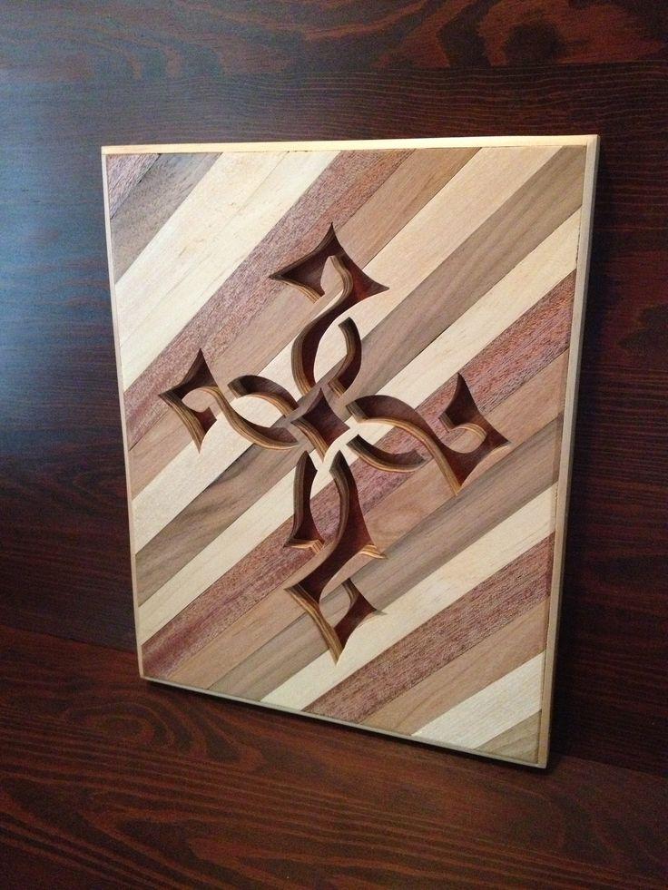 Wood Cross I made