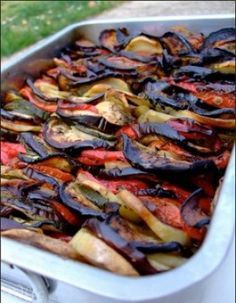 Briam (gratin de légumes, recette grecque)