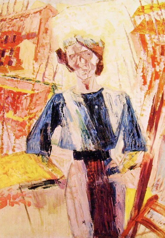Umberto Boccioni - Ines, cm. 135 x 93 Galleria d'Arte Moderna Milano