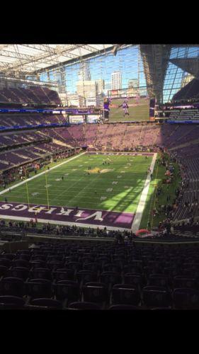 #tickets 2 Minnesota Vikings vs. Green Bay Packers Tickets October 15, 2017 please retweet