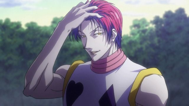 Hisoka With His Hair Down I Hate This Guy So Much And Yet Cant Help But Love Him WHY U DO DIS TO MEEHH