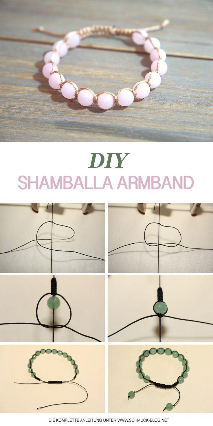 Faça você mesmo as pulseiras Shamballa – instruções   – DIY & Upcycling Gruppe