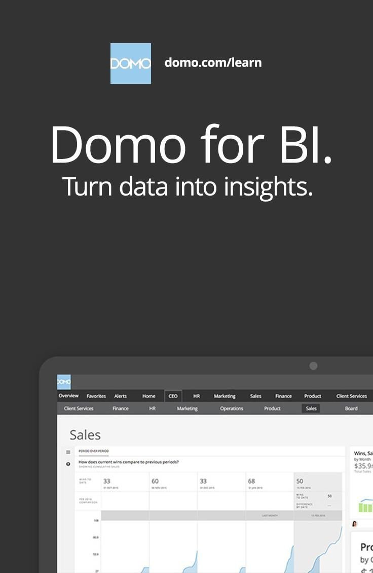 Domo is a BI expert's best friend. Learn how you can stay ahead of the curve.