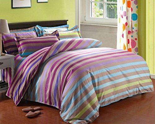 Multi-Stripe - Print Bedding Set - Twin Size - Duvet Cove... https://www.amazon.ca/dp/B01AQUTR1Q/ref=cm_sw_r_pi_dp_y-xhxb6HHTRCH