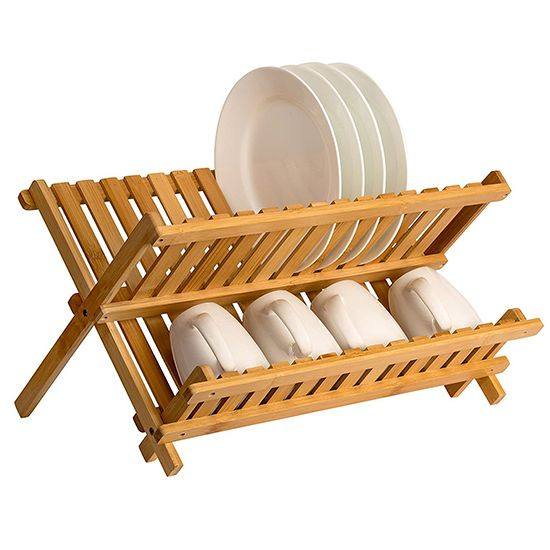 Deal of the Day: 77% Off Wooden Dish Drying Rack
