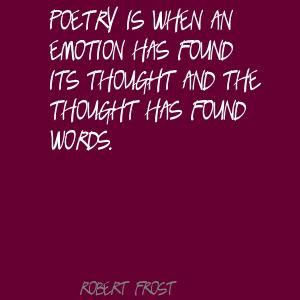 essay about robert frost poetry Jarrell's notable and influential essays on frost include the essays robert frost's 'home burial' the poetry of robert frost (holt rinehart & winston, 1969.