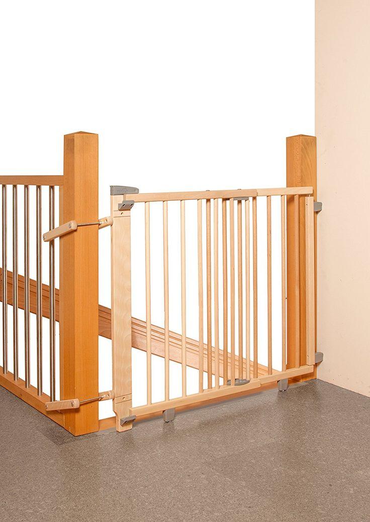 Geuther - Schwenk- #Treppenschutzgitter 2733, natur: Amazon.de: #Babysicherheit (Werbelink)