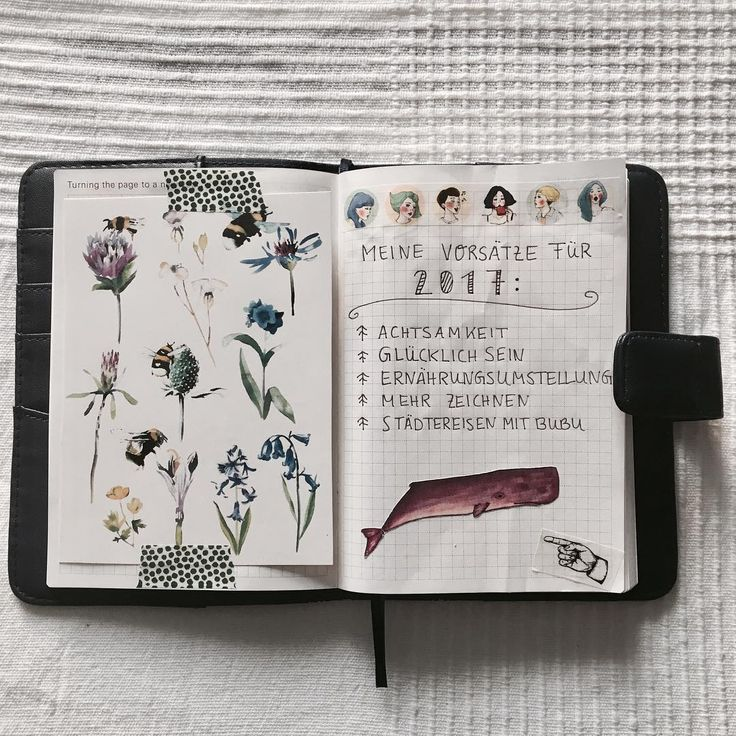 My first Pages in my Hobonichi
