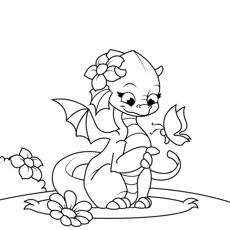 Printable coloring pages and dragons ~ 1000+ images about Dragon Coloring Pages on Pinterest ...