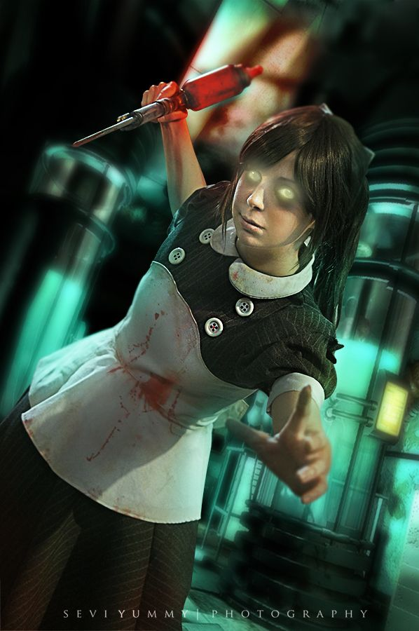 Amazing Little Sister cosplay from Bioshock - 8 Little Sister Cosplays