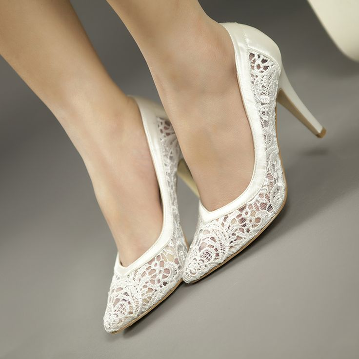 Cheap Bride Pumps Buy Quality Wedding Shoes Directly From China Lace Suppliers 2017 Women Cutout Satin Fabric High Heels Sexy