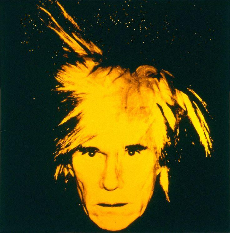 Andy Warhol-Self Portrait (1986)